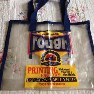 ラフ(rough)のrough ビニールバッグ(ハンドバッグ)