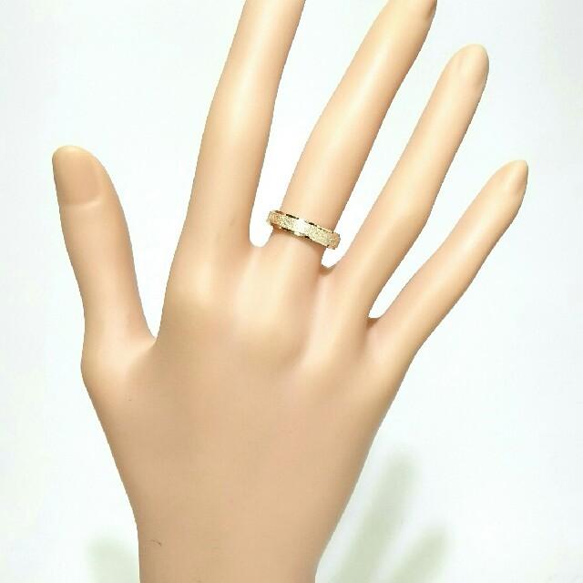 SR036 ピンクゴールド ステンレスリング レディースのアクセサリー(リング(指輪))の商品写真
