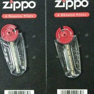 ジッポー(ZIPPO)のZippo フリント 着火石(6石入り)×2セット  交換用着火石(タバコグッズ)