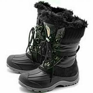 キンバーテックス(KIMBERTEX)のKIMBERTEX オンタリオ ジュニア スノーブーツ ブラック 18.5cm(ブーツ)