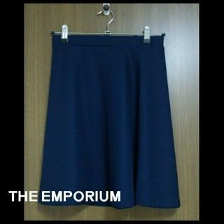 ジエンポリアム(THE EMPORIUM)の膝丈フレアスカート(ひざ丈スカート)