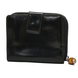 d2685e2c7874 グッチ(Gucci)のグッチ 財布 二つ折り エナメル バンブー 100515(折り財布)