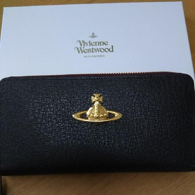 Vivienne Westwood(ヴィヴィアンウエストウッド)のよち様専用ヴィヴィアンウエストウッド長財物新品未使用 レディースのファッション小物(財布)の商品写真