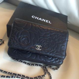 シャネル(CHANEL)のシャネル♡チェーンウォレット美品(財布)