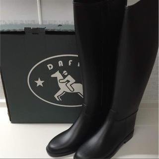 ダフナブーツ(Dafna Boots)のyou様専用【美品】ダフナ ロングレインブーツ(レインブーツ/長靴)