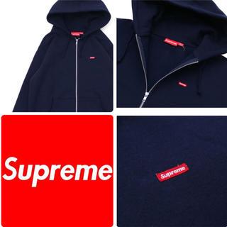 シュプリーム(Supreme)の【 L 】Small Box Zip Up Sweatshirt(パーカー)
