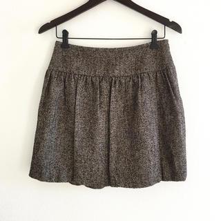 スピックアンドスパンノーブル(Spick and Span Noble)の美品 ツイードスカート M スピックアンドスパン ノーブル(ミニスカート)