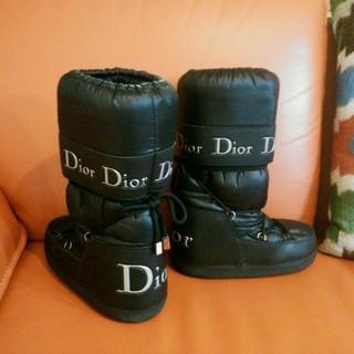 クリスチャンディオール(Christian Dior)のクリスチャンディオール『スノーブーツ』35-37(ブーツ)