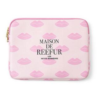 メゾンドリーファー(Maison de Reefur)の【新品】MAISON DE REEFUR リップ柄 ケース ポーチ (ポーチ)