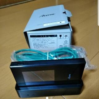 エヌイーシー(NEC)のAterm MR04LN 専用クレードルセット simフリー(PC周辺機器)