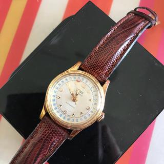 【廃盤】ORIS ビッククラウン 17jewels レディース オリス 腕時計