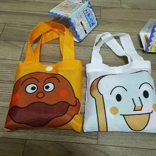 アンパンマン(アンパンマン)の新品☆食パンマン&カレーパンマン エコバッグ(エコバッグ)