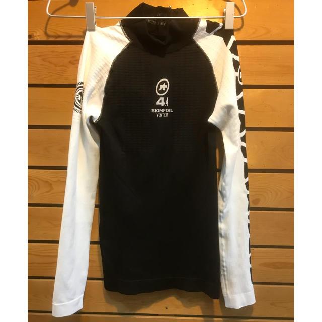 アソス 最強防寒アンダーウォーマー  LS.skin Foil_evo7 スポーツ/アウトドアの自転車(ウエア)の商品写真