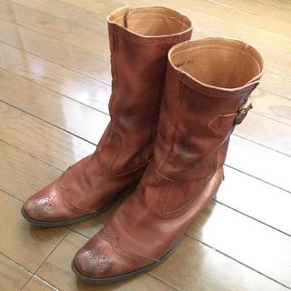 サヴァサヴァ(cavacava)の28日まで値下げ❗️cava cava サヴァサヴァ★ウエスタン風ブーツ(ブーツ)