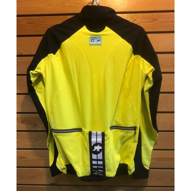 アソス 長袖サイクルジャケット ij.haBu   Lサイズ スポーツ/アウトドアの自転車(ウエア)の商品写真