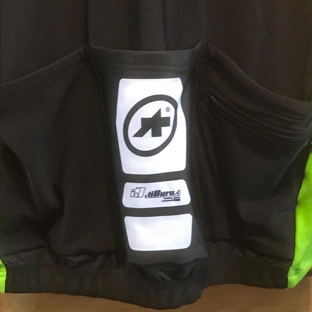 アソス 裏起毛 春秋用ロングスリーブジャージ ij.tiburu 4  Lサイズ スポーツ/アウトドアの自転車(ウエア)の商品写真