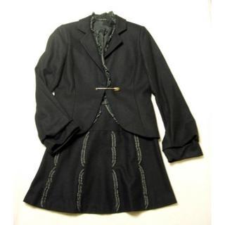 ジェーンマープル(JaneMarple)のフリル付スーツ ジェーンマープル JaneMarpleスカートジャケット(セット/コーデ)