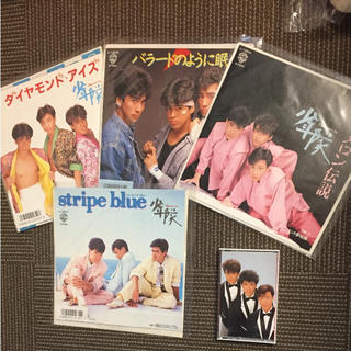 少年隊 レコード 4枚 カセット セット売り