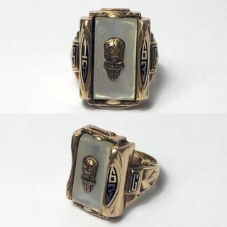 1963年 ビンテージ カレッジリング(リング(指輪))