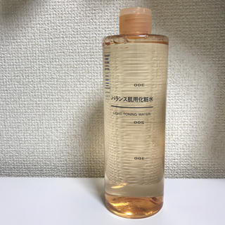 ムジルシリョウヒン(MUJI (無印良品))の 無印良品 バランス肌用化粧水 400ml(化粧水 / ローション)