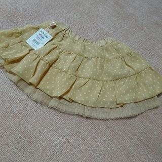 ミキハウス(mikihouse)のミキハウス新品未使用 りーなスカート110(スカート)