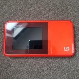 エーユー(au)のw03 WiFiルーター(PC周辺機器)