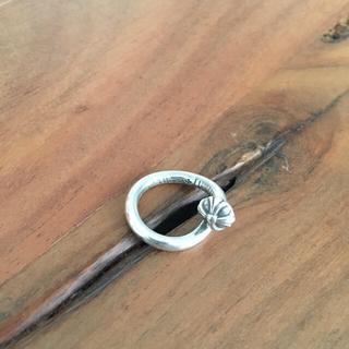 クロムハーツ(Chrome Hearts)のクロムハーツ   ネイル リング クロスボール  ベビーファット ブレス(リング(指輪))