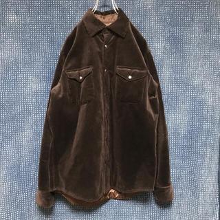 ギローバー(GUY ROVER)の【A】GUY ROVER 太畝 コーデュロイ シャツジャケット(シャツ)