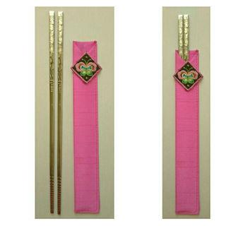 新品 韓国のシルバーお箸(その他)