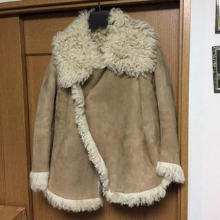 ドゥロワー(Drawer)のセルリア 様 専用出品です♪ ✨ ムートンコート 羊革 ✨日本製 ✨  (ムートンコート)