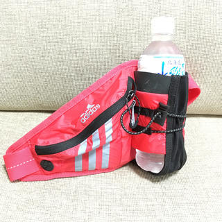 アディダス(adidas)のadidas ランニング用ウエストポーチ(ボディバッグ/ウエストポーチ)