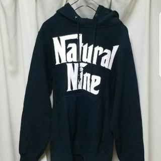 ナチュラルナイン(NATURAL NINE)のNatural Nine プルオーバー パーカー ギャンブルライフ ブラック(パーカー)