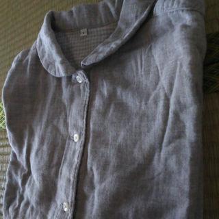 ムジルシリョウヒン(MUJI (無印良品))のはるのひかりさん専用無印良品 ダブルガーゼシャツ(その他)