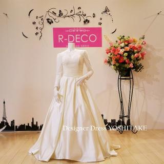ウエディングドレス ライトイエローカラードレス 披露宴(ウェディングドレス)
