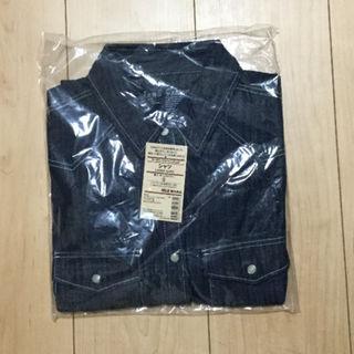 ムジルシリョウヒン(MUJI (無印良品))の【新品】無印良品 デニムシャツ 婦人 Sサイズ オーガニックコットン(その他)