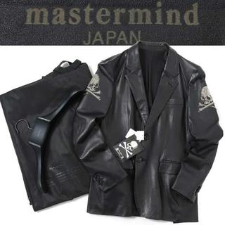 マスターマインドジャパン(mastermind JAPAN)のmastermind dreaming期 メタル スカル レザージャケット S(レザージャケット)