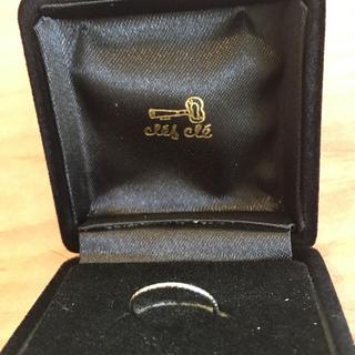 ユナイテッドアローズ(UNITED ARROWS)のホワイトゴールドリング 指輪 お値下げ❣️(リング(指輪))