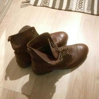 ザラ(ZARA)の定価2万円 ザラ ZARA MAN ブーツ 本革(ブーツ)