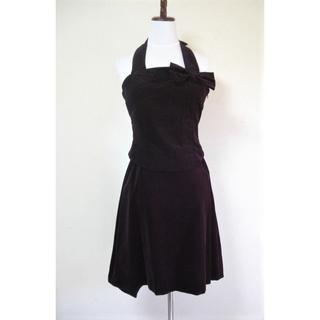 ジェーンマープル(JaneMarple)の別珍後ろ編み上げビスチェリボンスカート JaneMarple ジェーンマープル(セット/コーデ)