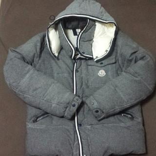 モンクレール(MONCLER)のモンクレール ブランソン wool仕様 サイズ3 グレー(ダウンジャケット)