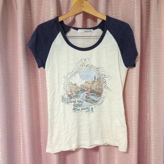 ミスティウーマン(mysty woman)のヴィンテージ風 Tシャツ(Tシャツ(半袖/袖なし))