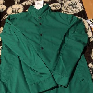 ハイダウェイ(HIDEAWAY)のハイダウェイ ニコル 緑シャツ(シャツ)