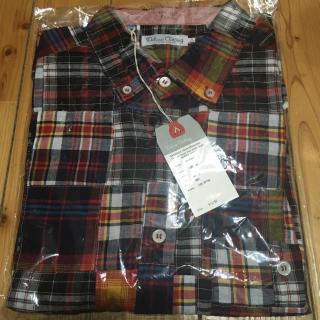 DELUXE(デラックス)の★ 新品 DELUXE CHAPMAN シャツ パッチワーク チェックシャツ ★ メンズのトップス(シャツ)の商品写真