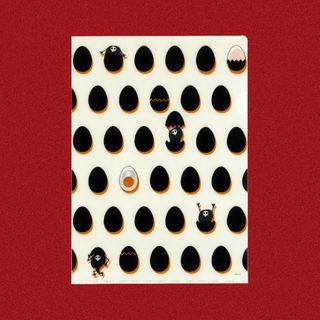 新世紀エヴァンゲリオン 限定クリアファイル(ゆるたまご(黒))(クリアファイル)