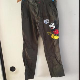 ディズニー(Disney)のミッキーパンツ64cm(カジュアルパンツ)