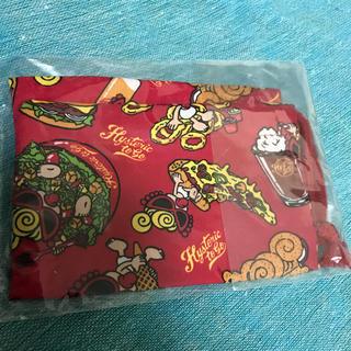 ヒステリックミニ(HYSTERIC MINI)の新品 ヒステリック ミニ コップ袋 赤(ランチボックス巾着)