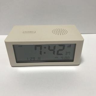 無印良品の電波時計