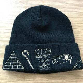 ギザ(GIZA)のGIZA ニット帽(ニット帽/ビーニー)