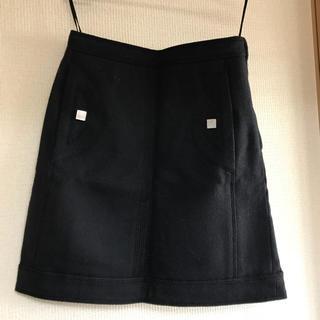 ルイヴィトン(LOUIS VUITTON)のルイヴィトンのスカート紺(ひざ丈スカート)