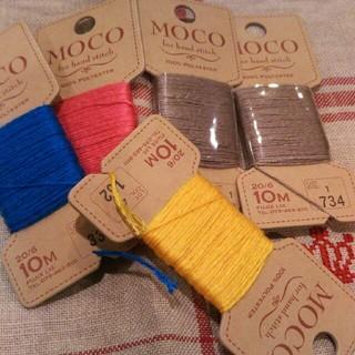 オリンパス(OLYMPUS)のMOCO刺繍糸セット(生地/糸)